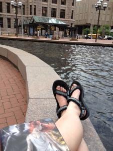 Resting in Minneapolis